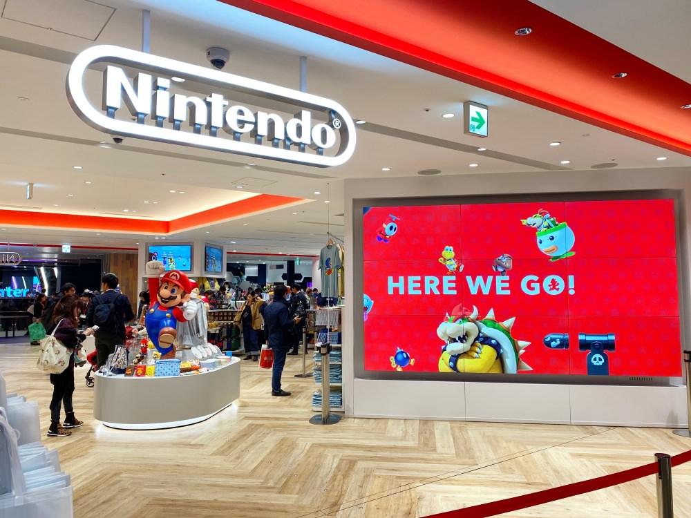 東京澀谷任天堂商店「Nintendo TOKYO」搶先看!澀谷PARCO內開幕囉!