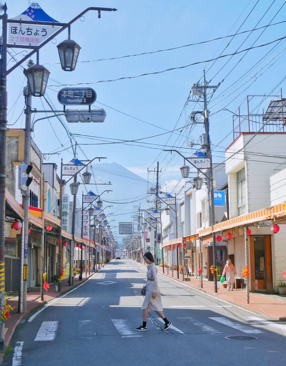下吉田本町商店街